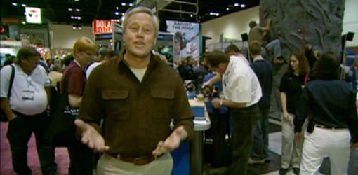 Danny Lipford at the International Builders' Show 2007