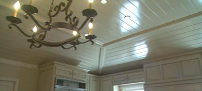 Turtleback Wood Ceiling