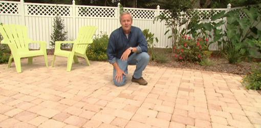 Danny Lipford on brick paver patio