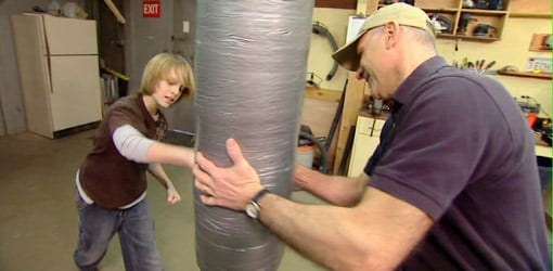 How To Make A Punching Bag From Recycled Materials Today S