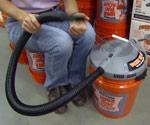 Bucket Head Wet/Dry Vac