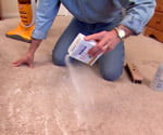 spot cleaning carpets with baking soda