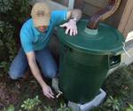 Homemade rain barrel for your yard