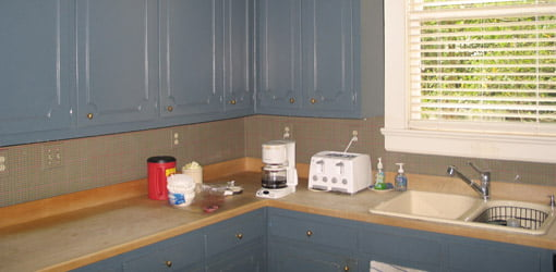Historic Kitchen, before renovation