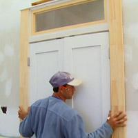 Installing an interior door unit