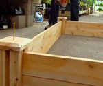 Wood Raised Bed Kit