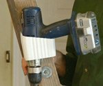 Stepladder Drill Holder