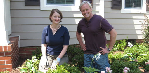 Lawn and Garden writer Julie Day Jones shares gardening tips with Danny Lipford.