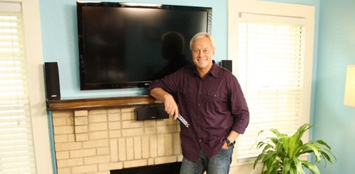 Danny Lipford standing in front of TV