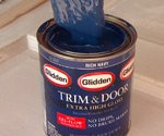 Can of Glidden Trim & Door Paint