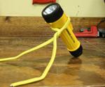 Homemade Flashlight Stand