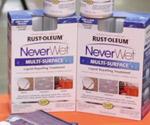 Boxes of Rust-Oleum NeverWet