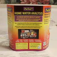 Home water test kit.