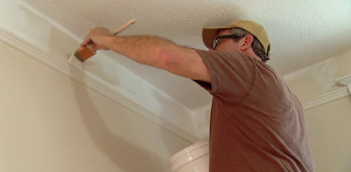 Allen Lyle painting trim.