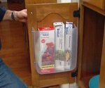 Cabinet Door Storage Container