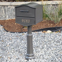 New security mailbox.
