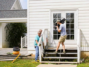 removing porch railings