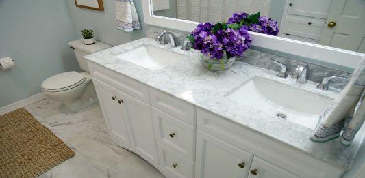 A Marble Marvel Bathroom Transformation