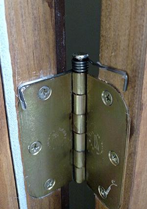 The Door Balancer keeping our radio booth door open.