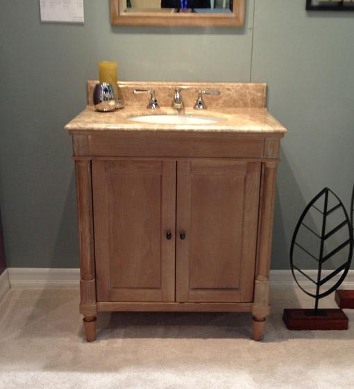 Fairmont Designs furniture style vanity.