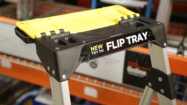 Gorilla's step ladder, as seen in The Home Depot