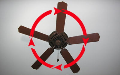 How To Heat Or Cool Your Home With A Ceiling Fan