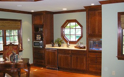 Merillat Classic® LaBelle cherry cabinets