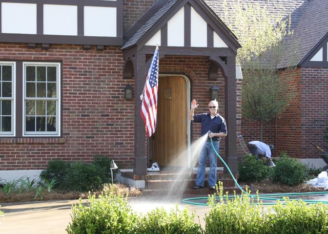 Danny Lipford doing landscaping