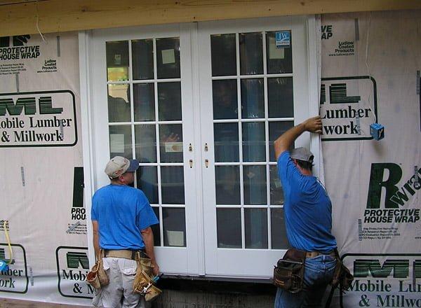The doors were installed