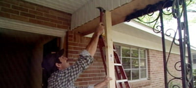 How To Replace A Wrought Iron Porch Column