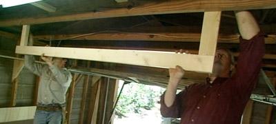 Garage Door Rack Today S Homeowner