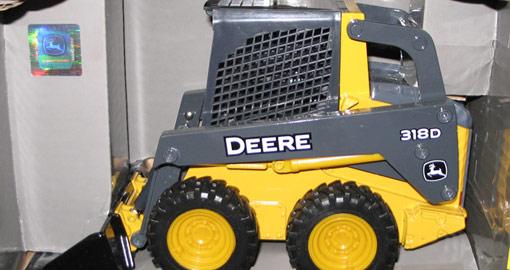 John Deere collectible tractor
