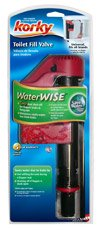 Korky WaterWI$E toilet fill valve