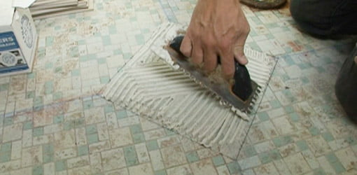 Fine How To Tile A Bathroom Floor Todays Homeowner Download Free Architecture Designs Sospemadebymaigaardcom