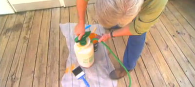 How to Clean and Finish a Wood Deck | Today's Homeowner