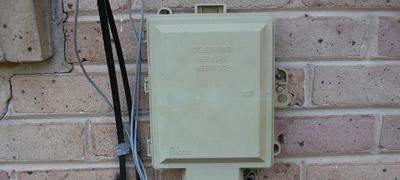 telephone interface box