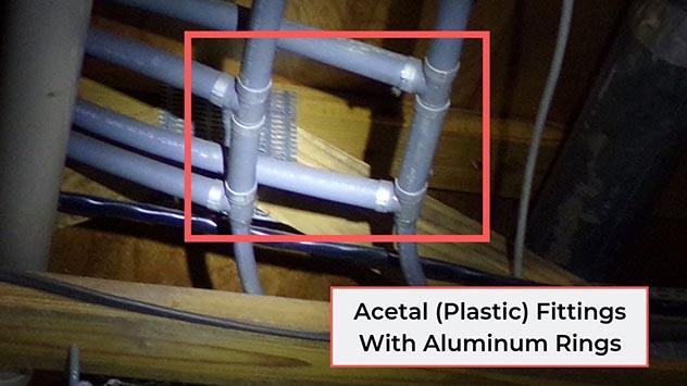 Acetal fittings