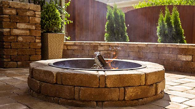 Install a fire pit