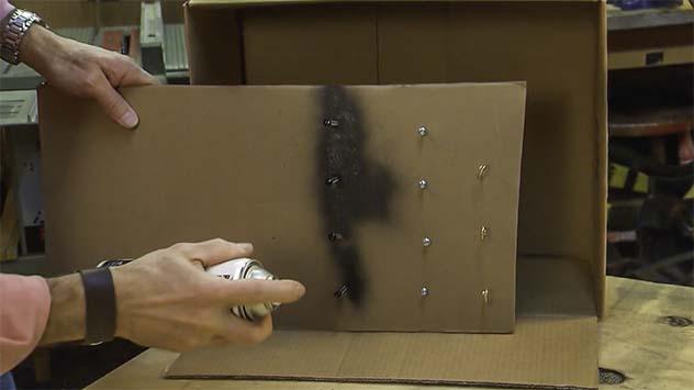 Spray Paint fasteners