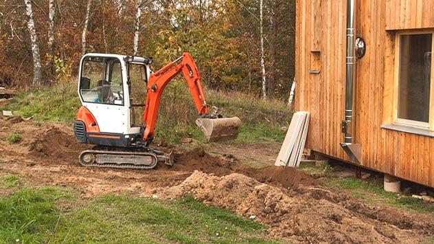 Excavate soil