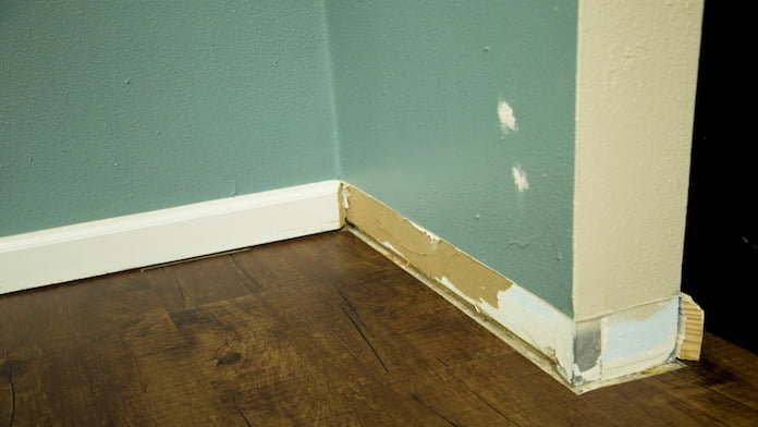Removing Painted Moldings
