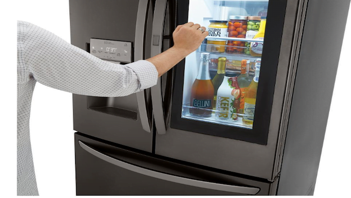 Best Car Cleaning Products >> Knock Twice for an Instant View Inside This Refrigerator