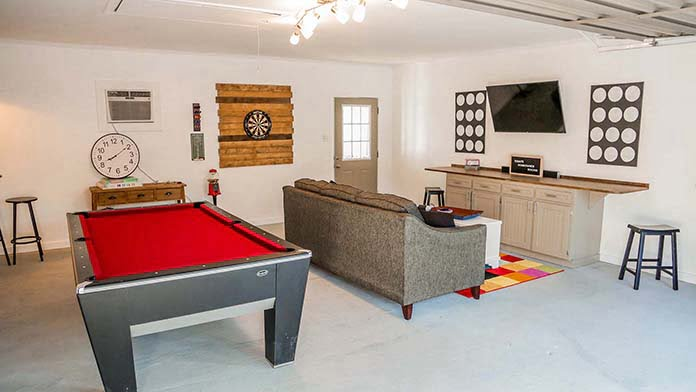 How To Transform A Garage Into A Teen Hangout Today S Homeowner