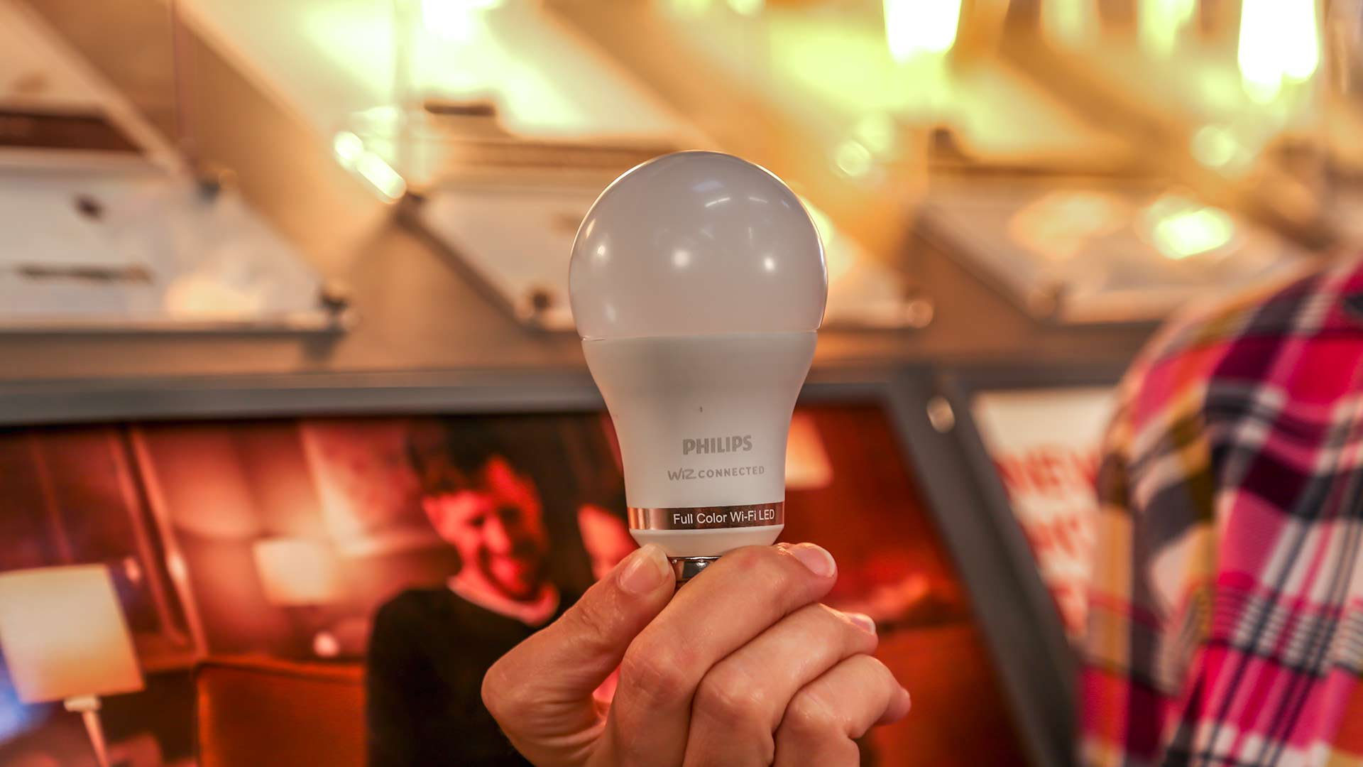 Philips' Wiz Smart Wi-Fi LED bulb