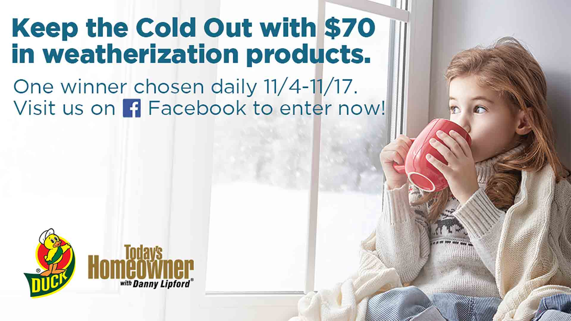 Keep the Cold Out Giveaway