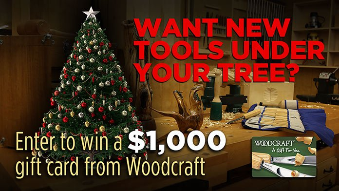 Woodcraft Tools Under My Tree entry page header