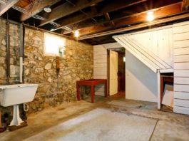 Basement in older home
