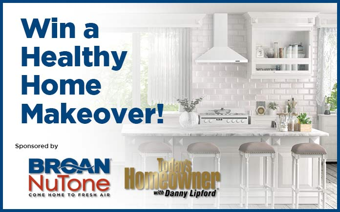 Healthy Home Makeover Contest banner