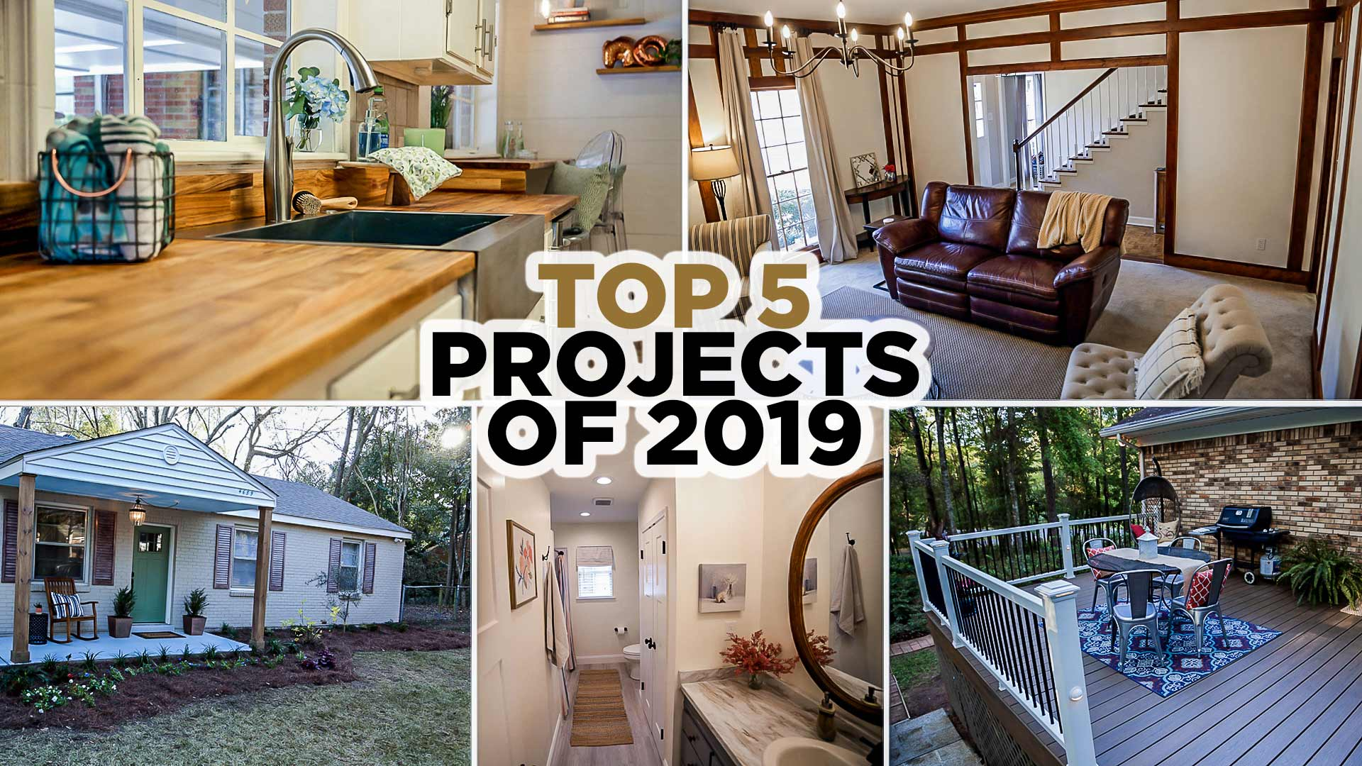 Top 5 Home Improvement Projects of 2019