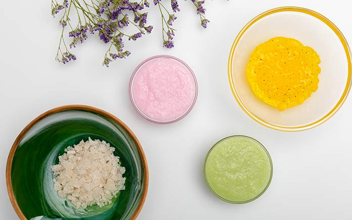 Organic bathroom and beauty products